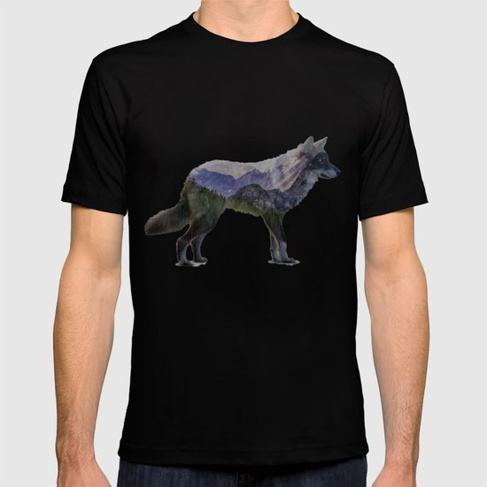 The Rocky Mountain Gray Wolf T-shirt