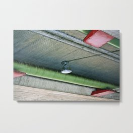 theres always a light Metal Print
