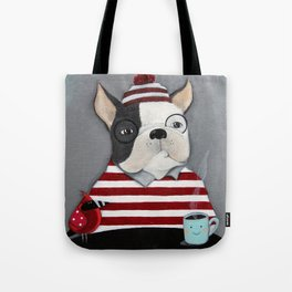 Waldo the Boston Terrier Tote Bag