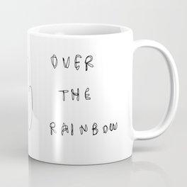 Someday - black white illustration Coffee Mug