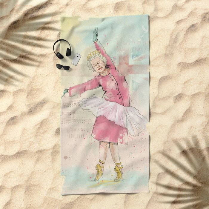 Dancing queen Beach Towel