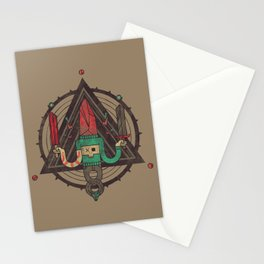 He, with the peculiar voice Stationery Cards