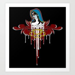Day of the Dead Saint Art Print