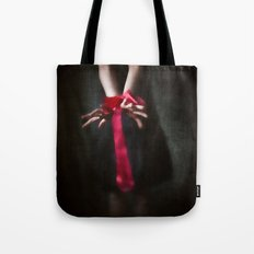 Red Are The Ties That Bind Tote Bag