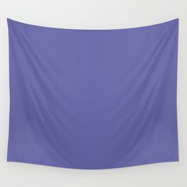 BLUE IRIS Pure Bright Pastel solid color Wall Tapestry