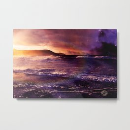 On the Horizon of the Infinite Metal Print