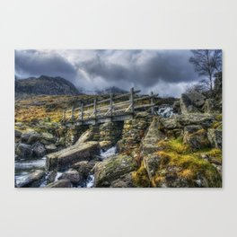 The Bridge to Devils Kitchen Canvas Print