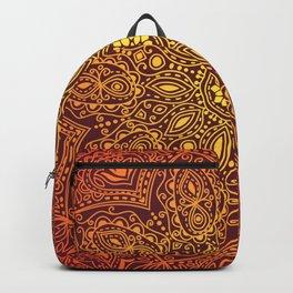 Firey Mandala Backpack