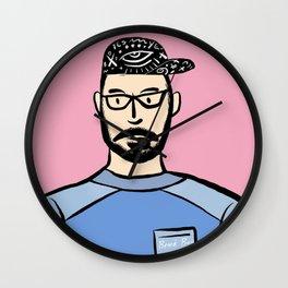 Beard Boy: Steven Wall Clock