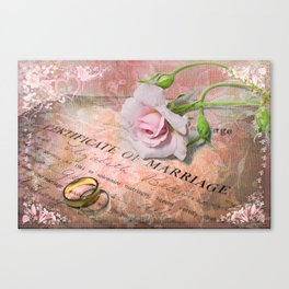 Tokens of Love Canvas Print