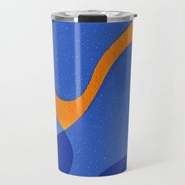 Orange Pop | Happy modern Art Travel Mug