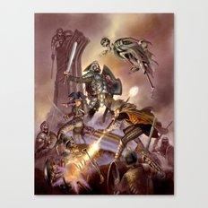The Undead Strike Canvas Print