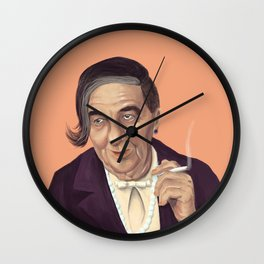 The Israeli Hipster leaders - Golda Meir Wall Clock