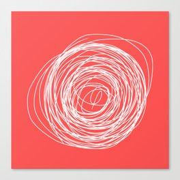 Nest of creativity Canvas Print