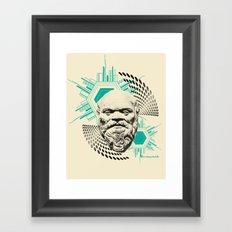 Socrates! Framed Art Print