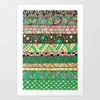 nyc Art Prints featuring NYC by Mariana Beldi