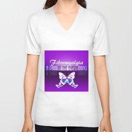 Fibromyalgia - A Pain in the Everything Unisex V-Neck