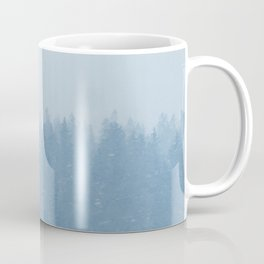 Foggy Blue Fores Coffee Mug