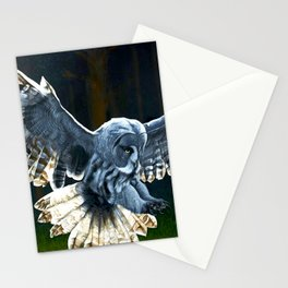 The Watcher on the Wall Stationery Cards