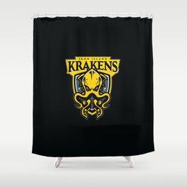 Iron Island Krakens Shower Curtain