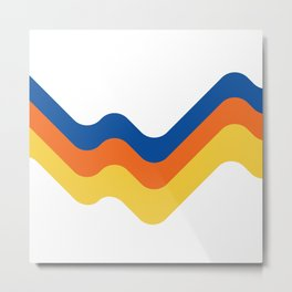 Sound Wave Metal Print