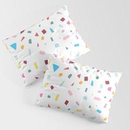 Rainbow Confetti Pillow Sham