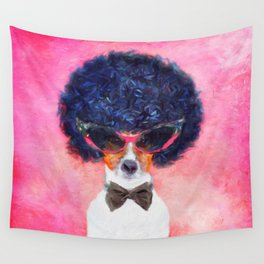 Charlie - Dog Portrait Wall Tapestry