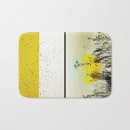 postcards of a carnal crepuscule Bath Mat