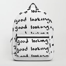 Handwritten Reminder Backpack