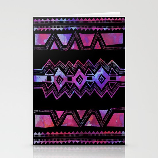 PATTERN {Tribal 001} Stationery Cards