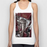 indian Tank Tops featuring Indian by the_continuum