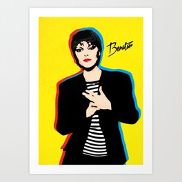 Pat Benatar - Pop Art Art Print