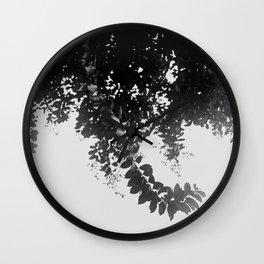 Leaf Curl Wall Clock