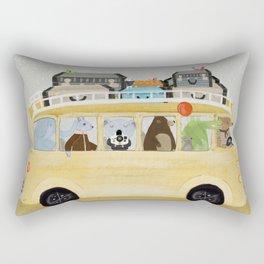 a little vacation Rectangular Pillow