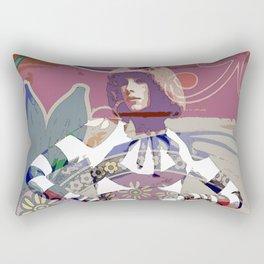 GIRL# 92 Rectangular Pillow