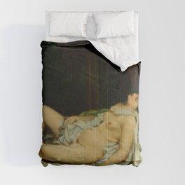 "Gustave Courbet ""Sleeping Nude"" Comforters"
