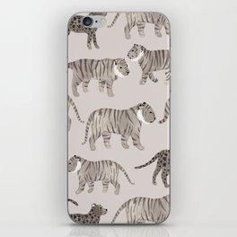 Gray Tigers iPhone Skin