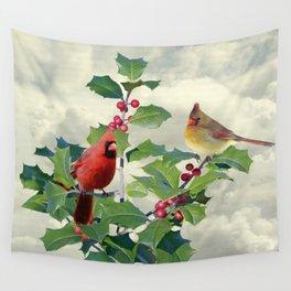 Spade's Cardinals Wall Tapestry
