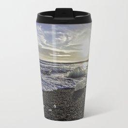 Jokulsarlon Lagoon Beach 06 Travel Mug