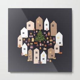 The Christmas City II Metal Print