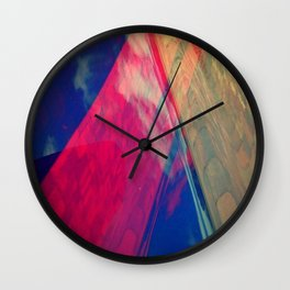 Signs in the Sky Collection II- Pillars to the Sky Wall Clock