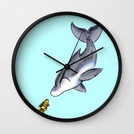 Hello, Fishy! Wall Clock