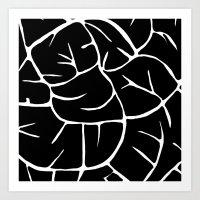 black mod Art Print