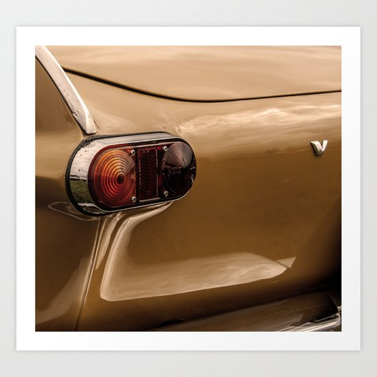 V for Volvo Art Print