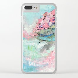 Spring Fields Clear iPhone Case