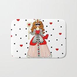 Queen of Hearts Bath Mat