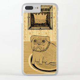 Princess. French bullmastiff Clear iPhone Case