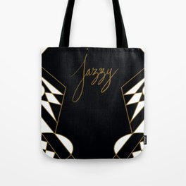 Deco Jazzy Tote Bag