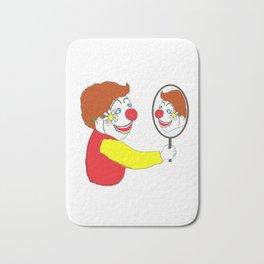 The Happy Clown Bath Mat