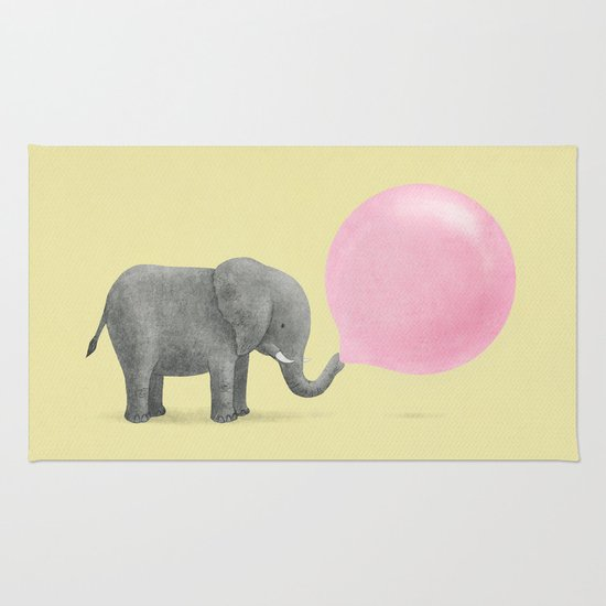 Jumbo Bubble Gum Rug